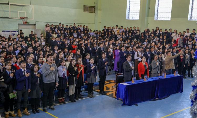 ЕБС-ийн ахлах ангийн сурагчдын дунд хамгийн өндөр шагналтай үндэсний илтгэлийн тэмцээн эхэллээ